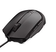 Lofree 125 6 llaves usb 5000dpi ratón de juego con cable de 180cm