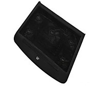 T5  Laptop Cooling Pad Dual USB  Five fans  for 14 Inch Laptop