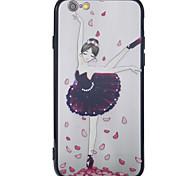 Чехол для iphone 7 7plus 6 6s 6s плюс 6plus чехол для корпуса новый лак рельефный фон богиня pc backboard tpu бортовой телефон чехол