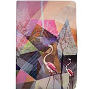 Чехол для ipad pro 10.5 pro 9.7 фламинго модель pu кожаный материал плоский защитный чехол для ipad 2017 ipad air2 air ipad 2 3 4 ipad