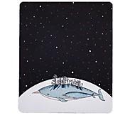 Мисс маленький звезда кита искусство свежий рисунок коврик для мыши натуральная резиновая ткань 20 * 23.8