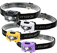 Налобные фонари LED 500 Люмен 4.0 Режим LED Батарейки не входят в комплект 3 режима Водонепроницаемый Светодиодная лампа Легко для того