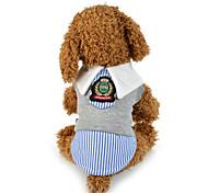 Собака Толстовка Одежда для собак Для вечеринки Английский