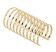 Жен. Браслет цельное кольцо Браслет разомкнутое кольцо Панк Rock Мода Богемия Стиль Металлический сплав Геометрической формы Бижутерия