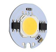 9w runde cob LED-Chip smart ic ac 220v für diy Deckenleuchte Downlight Scheinwerfer warm / kalt weiß (1 Stück)