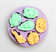 Формы для пирожных конфеты Силиконовые День рождения Новый год День Благодарения