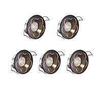 LED освещение для шкафчиков Холодный белый 5 шт.
