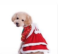 Perro Disfraces Mono Ropa para Perro Navidad Navidad