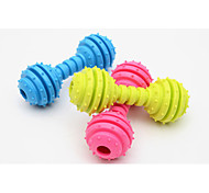 Cat Toy Dog Toy Pet Toys Chew Toy Dumbbell Rubber