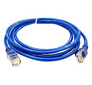 Семья простая и практичная кабельная 3 метра