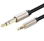 UGREEN Audio jack de 3.5mm Cable, Audio jack de 3.5mm to 6.35mm Cable Macho - Macho 8.0m (26 pies)