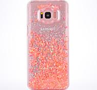 Чехол для samsung galaxy s8 s8 плюс чехол чехол маленький свежий серия шт материал материал флэш-порошок зыбучий телефон телефон