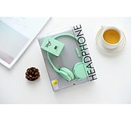 Sibyl X-45 Macarons Cartoon Microphone Headset Headphone Earphone For Phone and Computer