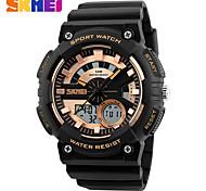 SKMEI Fashion Dual Display Digital Watch Men Chronograph Sports Watches Man Double Time LED Wristwatch
