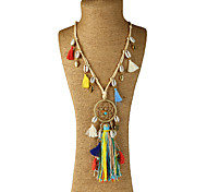 Women's Choker Necklaces Pendant Necklaces Statement Necklaces Geometric Mixed Materials Metal Alloy Resin Butterfly netDangling Style