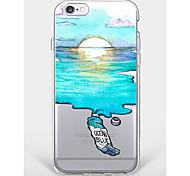 Чехол для iphone 7 плюс iphone 6 декорации телефон телефона мягкая оболочка для iphone 7 iphone 6 / 6s плюс iphone 6 / 6s iphone 5 5s se