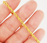 Gold Twisted Chain Bracelet Vintage Luxury Fashion Jewelry Accessories for Wedding Engagement Birthday Club Gift