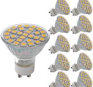 5W Lâmpadas de Foco de LED MR11 29 SMD 5050 380 lm Branco Quente Branco Frio Decorativa AC 220-240 V 10 pçs