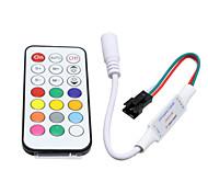 Hkv® 1pcsmini 21 клавиш управляет контроллером и беспроводным пультом дистанционного управления для светодиодных лампочек dc 5-24v