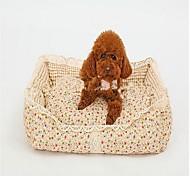 Собака Кровати Животные Корзины Цветы Теплый Мягкий Влажная чистка