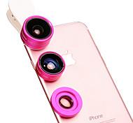 Баннер мобильный телефон объектив 180 объектив с рыбками глаз 0.4x широкоугольный объектив макро объектив алюминиевый сплав стекло для