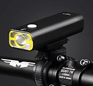 Держатель Велосипедные фары XP-G2 Велоспорт Светодиодная лампа С регулируемой яркостью USB 400 Люмен USB Теплый белый Велосипедный спорт