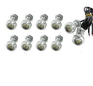 10 х 9w водить глаза орла света тумана автомобиля DRL дневного времени обратный резервный сигнал парковки