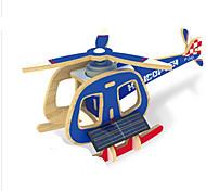 Пазлы Набор для творчества 3D пазлы Строительные блоки Игрушки своими руками Вертолет