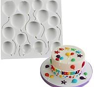 1 Формы для пирожных Печенье Шоколад Для приготовления пищи Посуда Для шоколада Для торта Для Cookieкремнийорганическая резина Силикон
