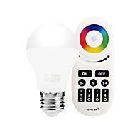 6W Умная LED лампа A60(A19) 20 SMD 5730 600 lm Тёплый белый Белый Двойной цвет источника светаИнфракрасный датчик Управление освещением