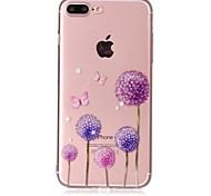 Чехол для Apple iphone 7 7 плюс чехол для обложки одуванчик образец лак рельеф высокое проникновение материал для телефона tpu телефон для