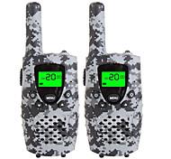 Прочные камуфляжные рации для детей 22-канальный микро-USB-зарядка 3 мили (до 5 милей) frs / gmrs портативные мини-рации для детей (пара)