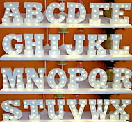 26 букв алфавита ночь вел светильник украшение стены для детей спальня свадебный декор