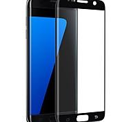 Закаленное стекло Защитная плёнка для экрана для Samsung Galaxy S7 edge Защитная пленка на всё устройство 2.5D закругленные углы