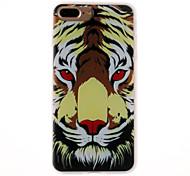 Case for apple iphone 7 7 plus case cover Тигр голова модель 3d рельефное молочко tpu материал телефон чехол для iphone 6s 6 плюс se 5s 5