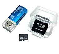 Карта памяти microsdhc с памятью 16 ГБ со всеми в одном устройстве для чтения карт памяти и sdhc sd-адаптером