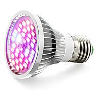 15W E27 LED лампа для теплиц 40 SMD 5730 800-1200 lm Тёплый белый Красный Синий UV (лампа черного света) V 1 шт.