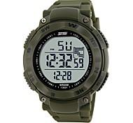 роскошные бренды мужчины спортивные часы цифровые светодиодные военные часы skmei 1024 50 м погружения плавать водонепроницаемые наручные