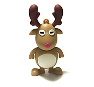 32gb рождество usb флеш-накопитель мультфильм рождественский олень рождественский подарок usb 2.0