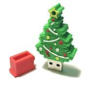 4gb рождество usb флеш-накопитель мультфильм творческая рождественская елка рождественский подарок usb 2.0
