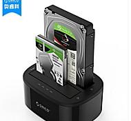 Orico-6228us3-c двухдисковый жесткий диск /usb3.0-2.5/3.5 inch sata / ssd black
