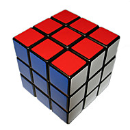 Magic Cube 3*3*3 Smooth Speed Cube Black Plastic Toys