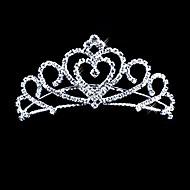 Morsiamen tiara, kirkas strassi