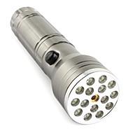 fx 15 +1 interrupteur conduit 3xAAA lampe de poche à mi-bouton 3-mode