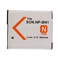 900mAh kamerabatteri NP-BN1 för Sony CyberShot DSC-W320, W350, W380