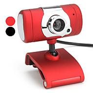 10 megapiksler t-stil usb 2.0 webkamera (assorterte farger)