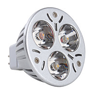 GU5.3 3.5 W 3 High Power LED 230 LM Warm White MR16 Spot Lights DC 12 V
