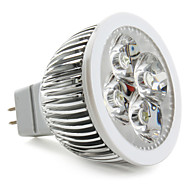 GU5.3 4 W 4 High Power LED 360 LM Natural White Spot Lights DC 12 V