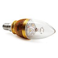 E14 3 W 3 High Power LED 270 LM Warm White BA Decorative Candle Bulbs AC 85-265 V