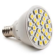 E14 3.5 W 24 SMD 5050 150 LM Warm White MR16 Spot Lights AC 220-240 V